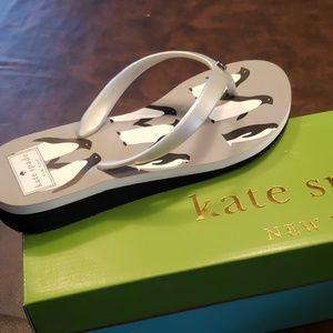 kate spade Shoes - ♠️ Kate Spade♠️(7) Milli Wedge Flip Flop